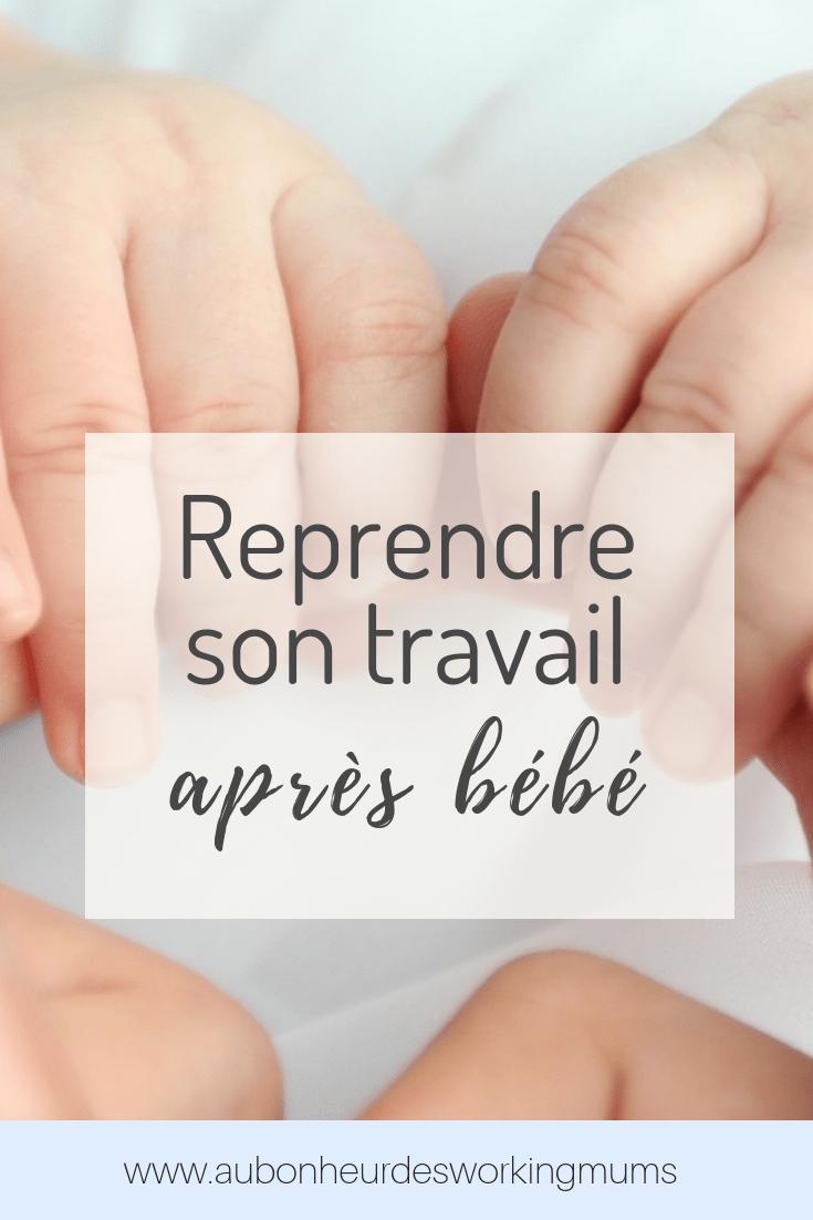 Reprise du travail après son premier enfant : 3 clés pour une transition en douceur